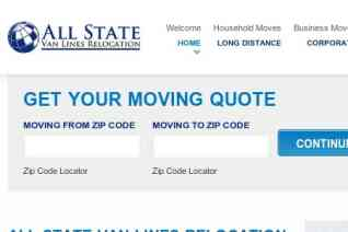 All State Van Lines reviews and complaints