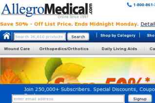 Allegro Medical reviews and complaints