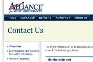 Alliance for Affordable Services reviews and complaints