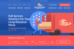 Allstate Moving reviews and complaints