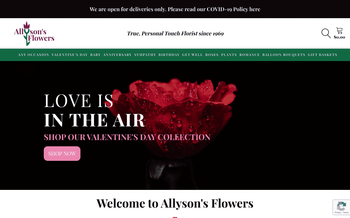 Allysons Flowers reviews and complaints