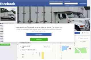 Alpine Van lines reviews and complaints