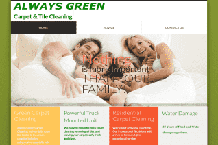 Always Green Carpet Cleaning reviews and complaints
