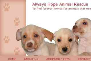 Always Hope Animal Rescue reviews and complaints