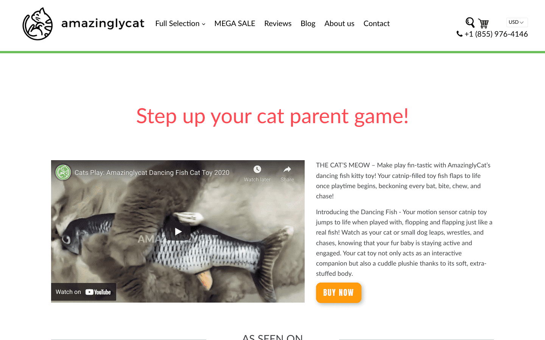 Amazingly Cat reviews and complaints