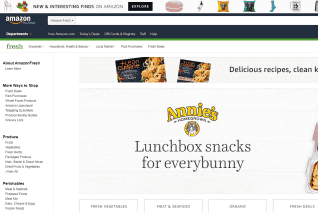 AmazonFresh reviews and complaints