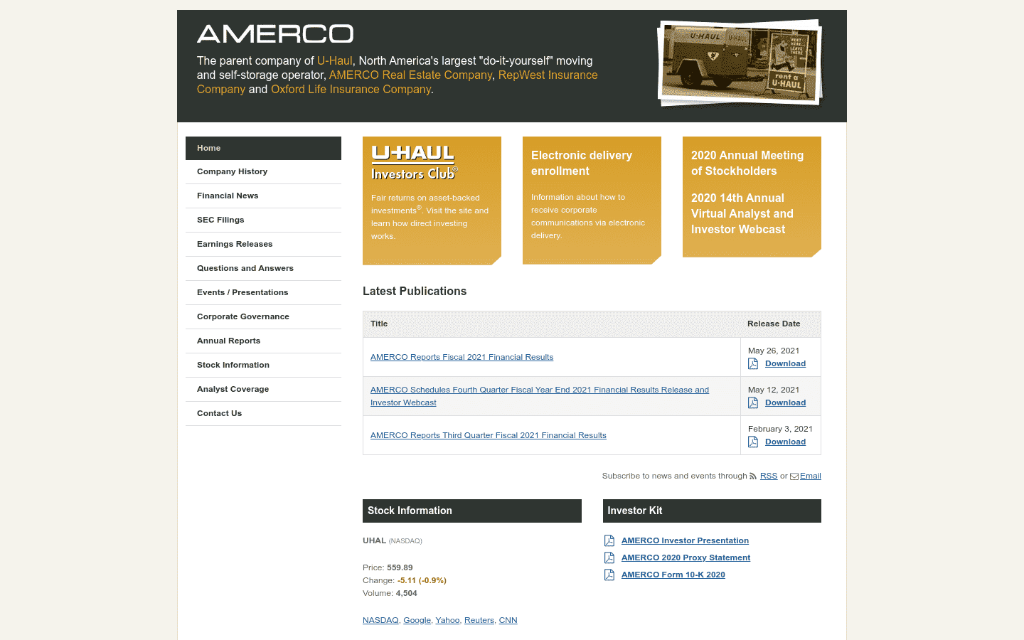 Amerco reviews and complaints