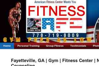 American Fitness Center reviews and complaints