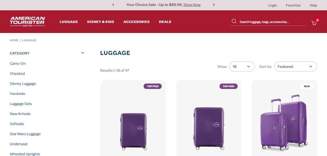 American Tourister reviews and complaints