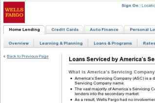 Americas Servicing Company reviews and complaints