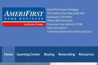 AmeriFirst Home Mortgage reviews and complaints