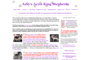 Amys Acres King Shepherds reviews and complaints