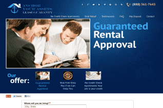 Anchor Your Assets Lease Guaranty reviews and complaints