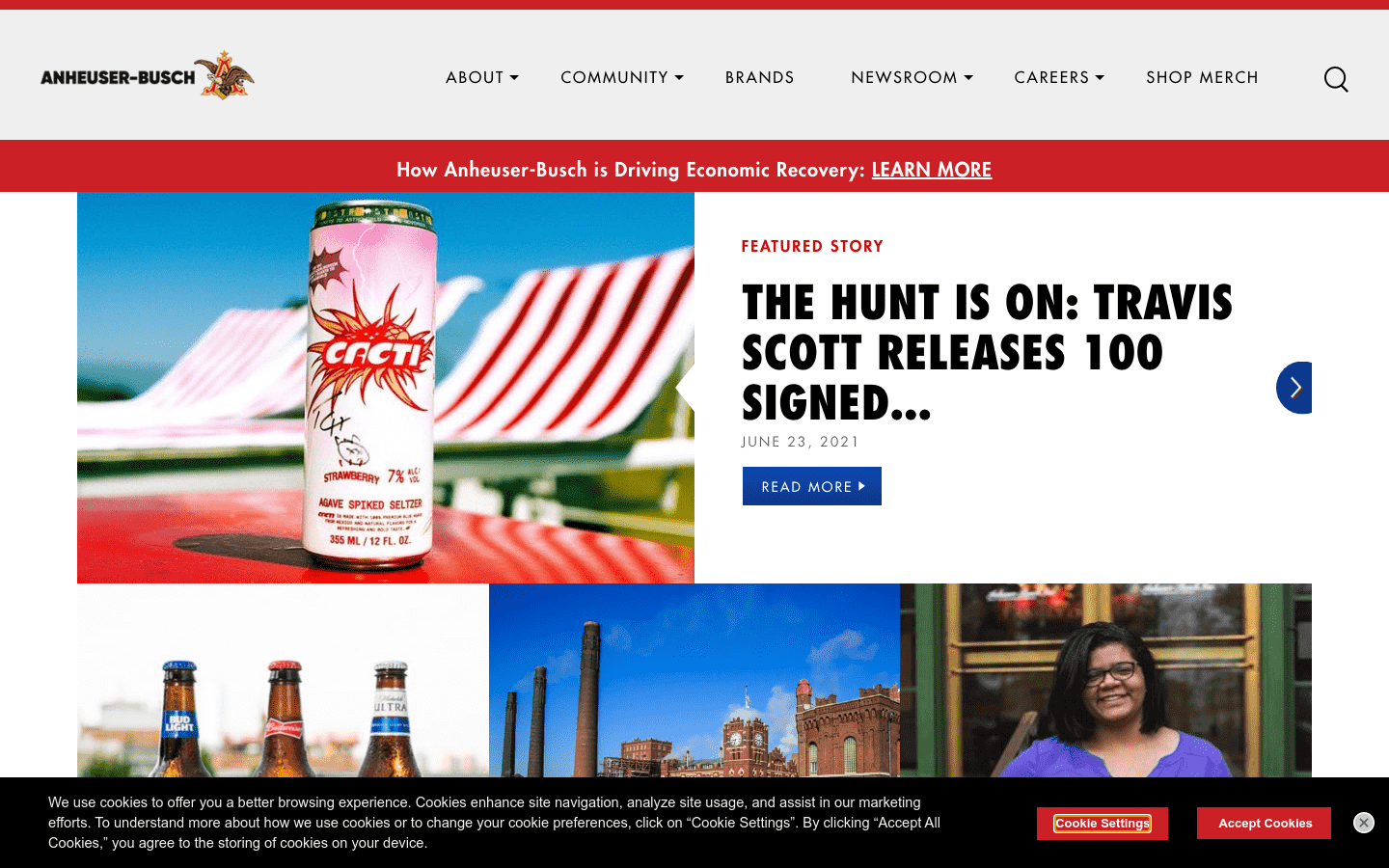 Anheuser Busch reviews and complaints
