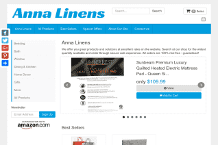 Annas Linens reviews and complaints