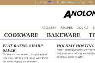 Anolon reviews and complaints