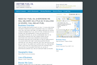 Anytime Fuel Oil reviews and complaints
