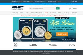 APMEX reviews and complaints