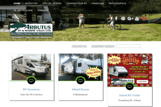 Arbutus Rv And Marine Sales reviews and complaints