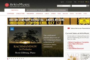 ArkivMusic reviews and complaints
