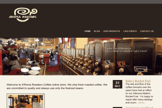 Aroma Roasters Coffee And Tea reviews and complaints