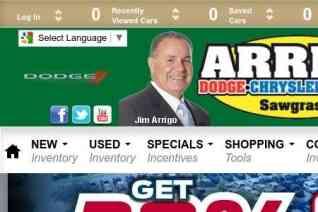 Arrigo Dodge Sawgrass reviews and complaints