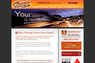 Arrow Auto Glass reviews and complaints