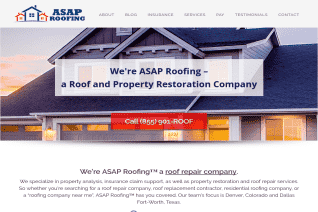 ASAP Roofing reviews and complaints