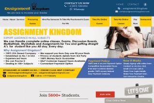 Assignment Kingdom Com reviews and complaints