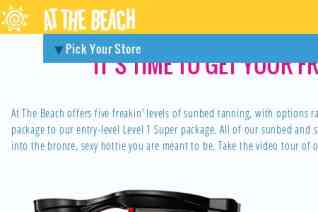 At The Beach Tanning Salon reviews and complaints