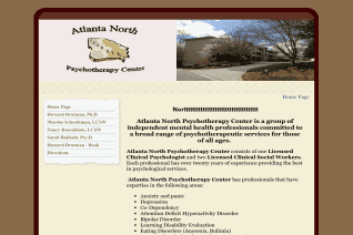 Atlanta North Psychotherapy Center reviews and complaints