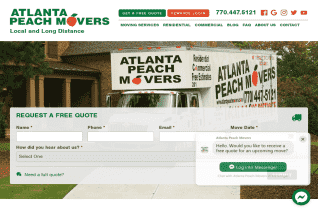 Atlanta Peach Movers reviews and complaints
