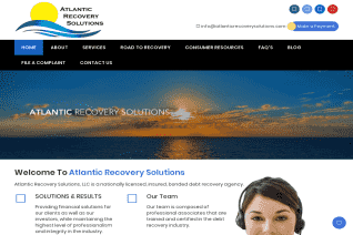 Atlantic Recovery Solutions reviews and complaints