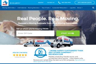 Atlas Van Lines reviews and complaints
