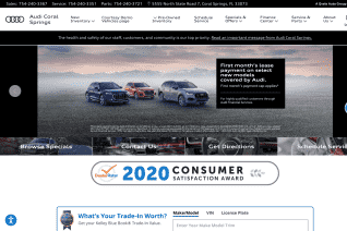 Audi Coral Springs reviews and complaints