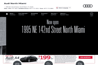 Audi North Miami reviews and complaints