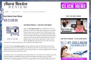 Aura Revive Cream reviews and complaints