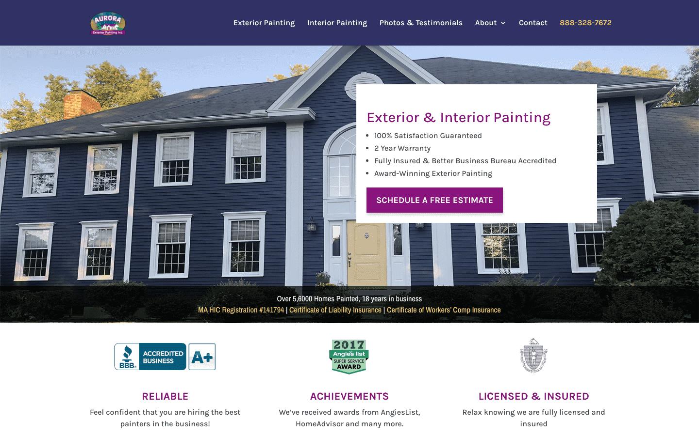 Aurora Exterior Painting reviews and complaints