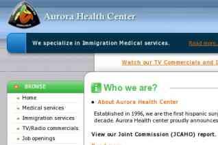 Aurora Health Center reviews and complaints