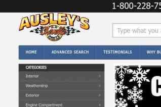 Ausleys Chevelle Parts reviews and complaints
