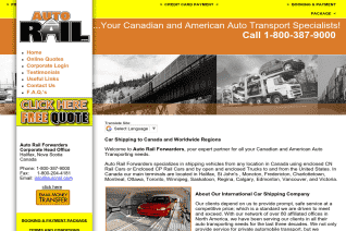 Auto Rail Forwarders reviews and complaints