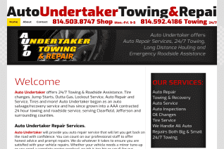 Auto Undertaker Towing And Repair reviews and complaints