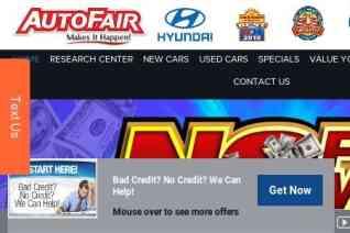 AutoFair Hyundai reviews and complaints