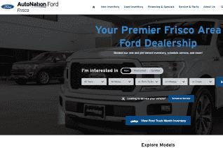 AutoNation Ford Frisco reviews and complaints
