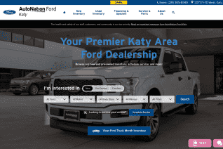 AutoNation Ford of Katy reviews and complaints