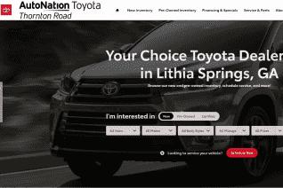 AutoNation Toyota Thornton Road reviews and complaints