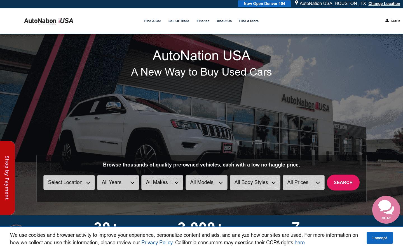 AutoNation USA reviews and complaints