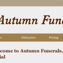 Autumn Funerals and Cremations