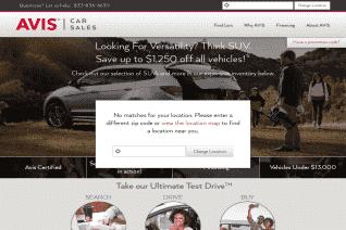 Avis Car Sales reviews and complaints