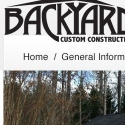 Backyard Custom Construction